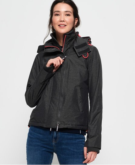 Superdry Pop Zip Hood Arctic SD-Windcheater