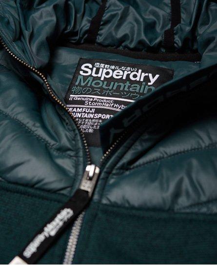Superdry SD Storm Half Hybrid Kapuzenjacke