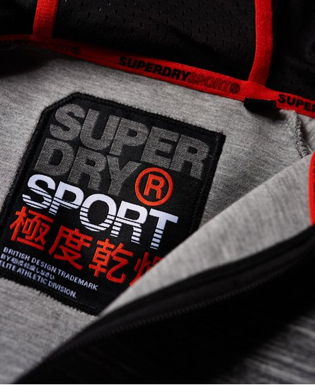 Superdry Gym Tech Stretch-hettegenser
