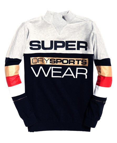 Superdry Sweat ras du cou Street Sports City