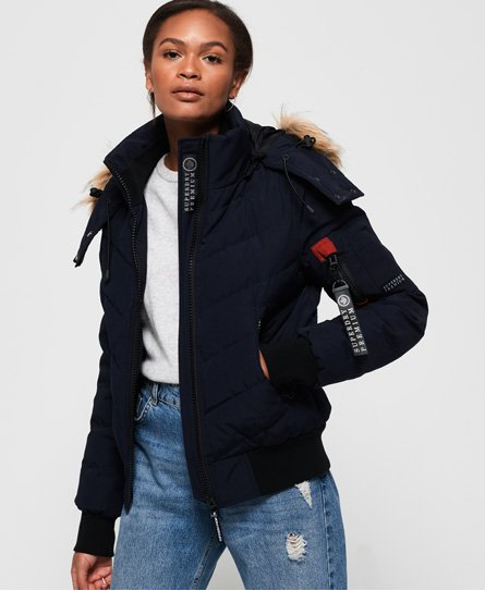 Superdry Premium Down Quilt Bomber Jacket