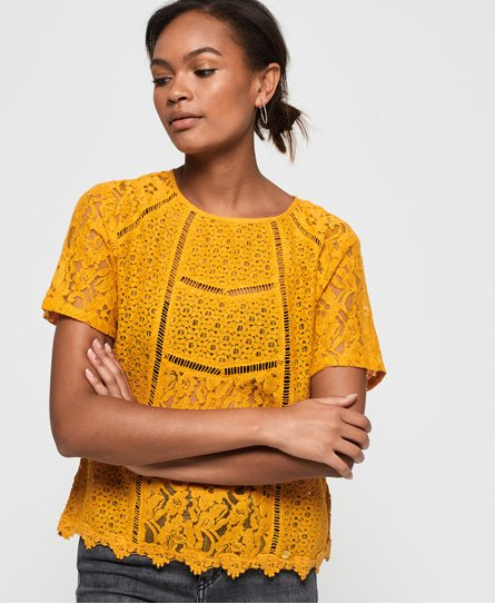 Superdry India lace Top
