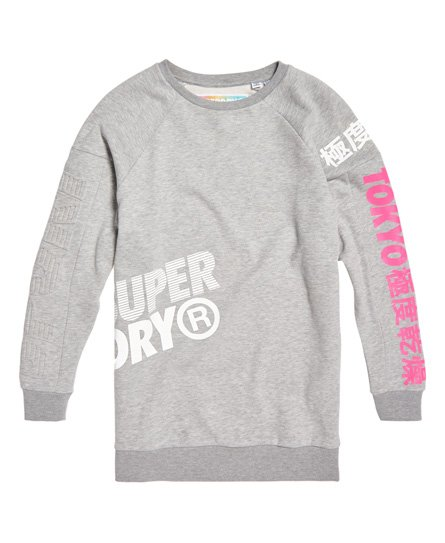 Superdry Oversized Japan Edition sweatkjole