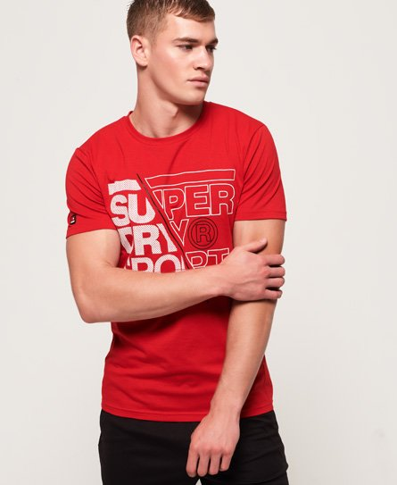 Superdry Core Graphic-T-skjorte