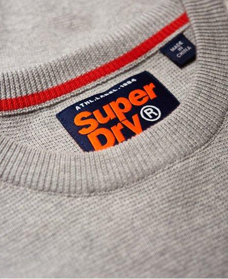 Superdry Pull à col rond et logo à relief Track