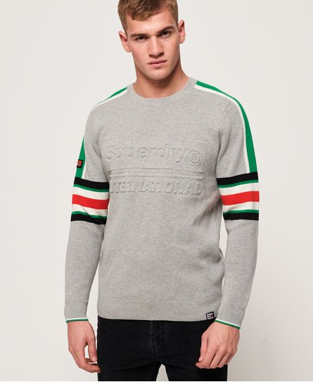 Superdry Track Embossed Crew Neck Jumper