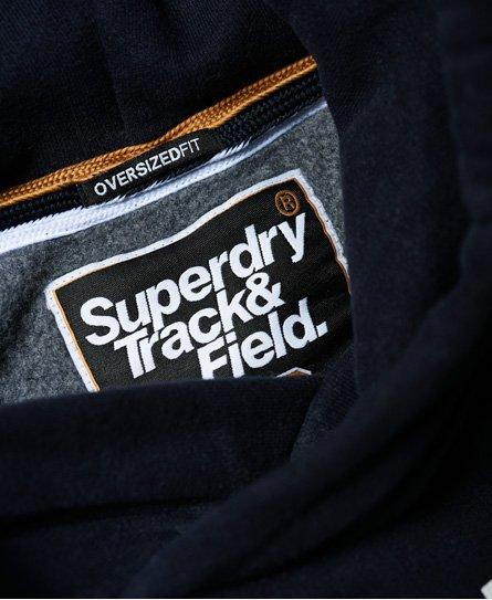 Superdry Super Track Hoodie in Übergröße
