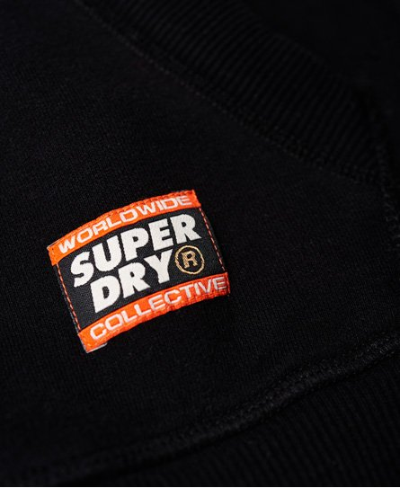 Superdry Felpa con cappuccio a incrocio Core