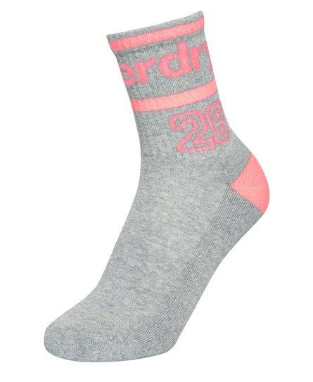 Superdry Lot de trois paires de chaussettes fluo Varsity