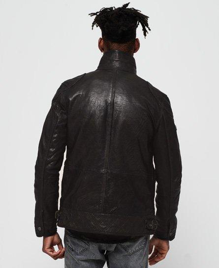 Superdry Tarpit Leather Jacket