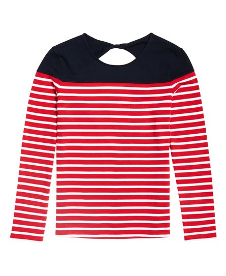 Superdry Breton Twist Back topje