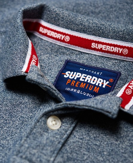 Superdry Classic poloshirt i piqué