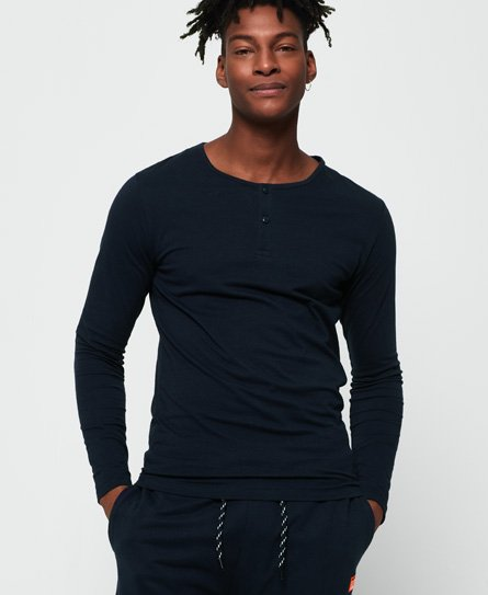 Superdry SD Laundry Organic Cotton Grandad Top