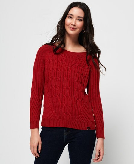 Superdry Hester Cable Knit Jumper