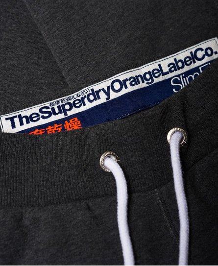Superdry Pantalon de survêtement Orange Label