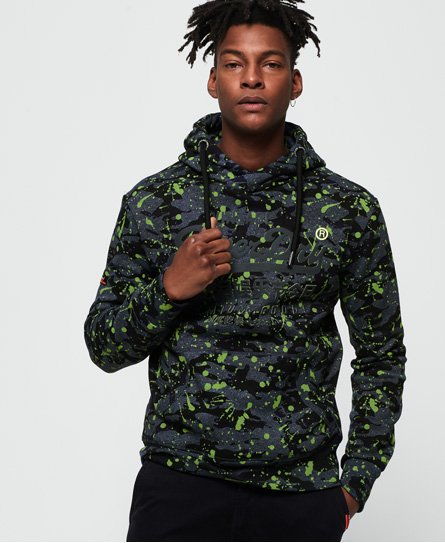 Superdry Premium Goods All Over Print Camo Hoodie