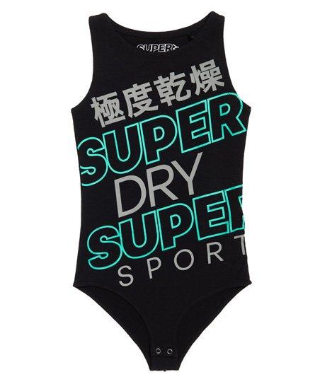 Superdry Super Sport Diagonal bodysuit