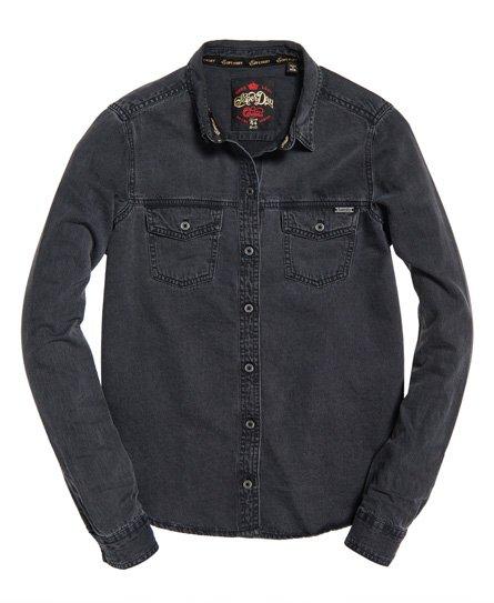 Superdry Oversized Denim Shirt
