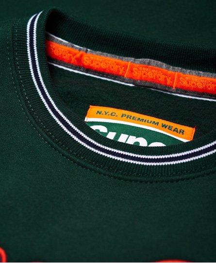 Superdry Academy Tipped Applique Sweatshirt
