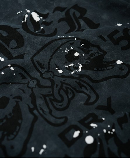 Superdry Camiseta Black Letter