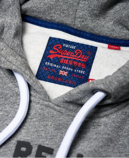 Superdry Vintage Logo Repeat Panel Hoodie