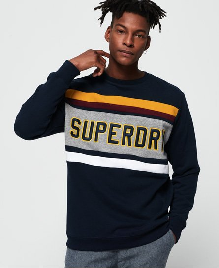 Superdry Applique Weekend Cut & Sew Sweatshirt