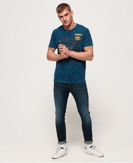 Superdry Black Letter T-Shirt
