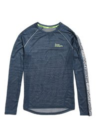 Superdry Camiseta de manga larga Active Microvent