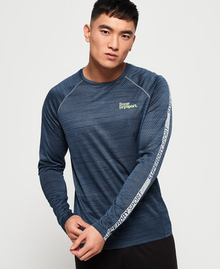 Superdry Active Microvent Langarm-T-Shirt