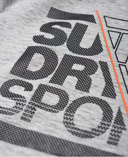 Superdry Sweat à capuche graphique stretch Gym Tech