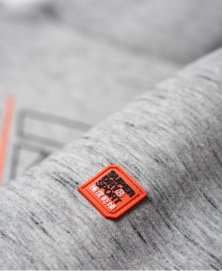 Superdry Gym Tech hættetrøje med grafik og stretch