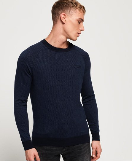 Orange Label Cotton Crew Jumper