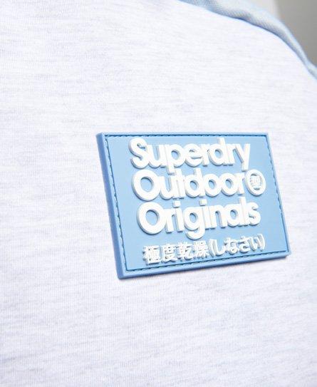 Superdry Jersey Montana rugzak met kleurvlakken