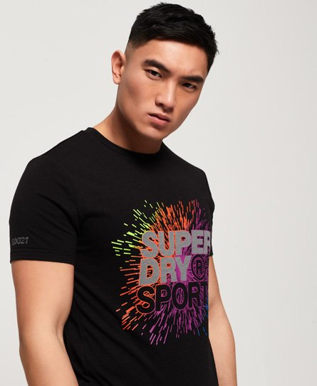 Superdry T-shirt Active Explosive