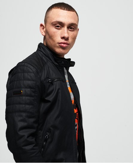 Superdry Veste de motard Carbon