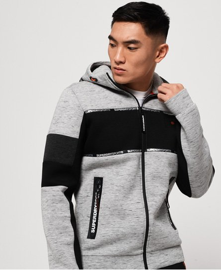 Superdry Gym Tech Block Stretch-Kapuzenjacke