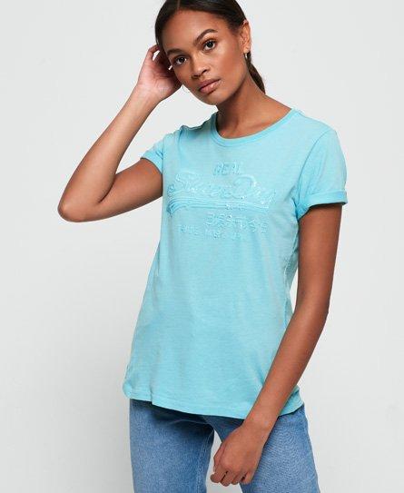 Superdry Vintage Logo Tonal Sequin T-Shirt