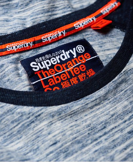 Superdry Orange Label Long Sleeve Baseball T-Shirt