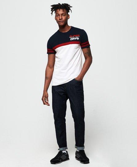 Superdry Nu Lad Cut & Sew T-Shirt mit Applikation