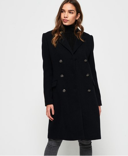Superdry Duchess Long Wool Coat