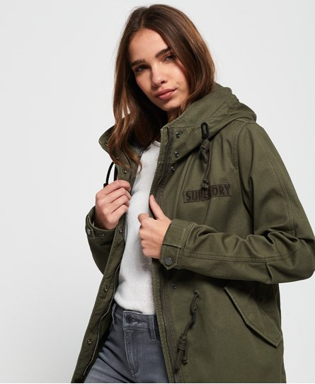 Superdry Rookie parka i bonded design