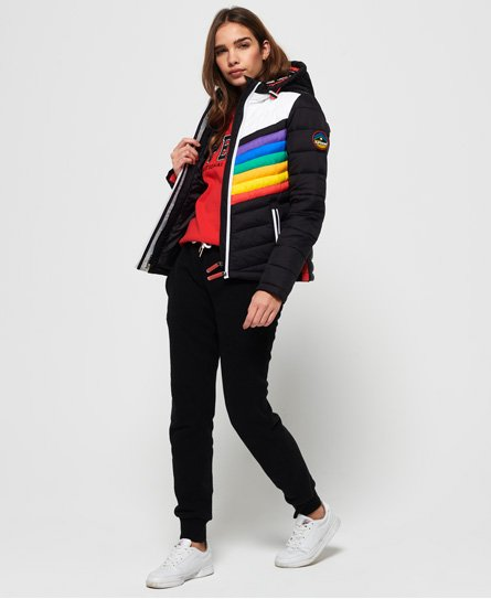 Superdry Chrome Hooded Fuji jas