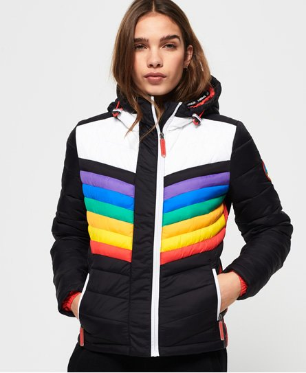Superdry Chrome Hooded Fuji Jacket thumbnail 1