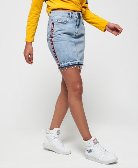 Denim Mini Skirt146625