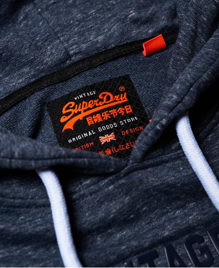 Superdry Sweat à capuche molletonné léger Premium Goods Tri