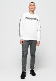 Superdry International Monochrome Oversized-collegegenser