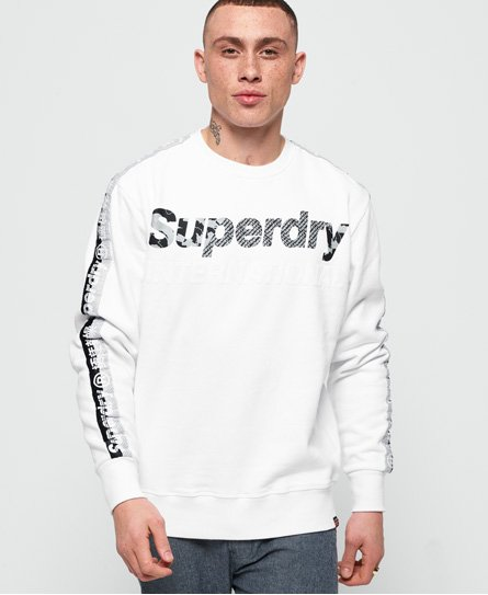 Superdry International Monochrome Oversized-collegegenser