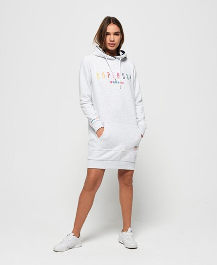 Superdry Rainbow Tape Sweat Dress