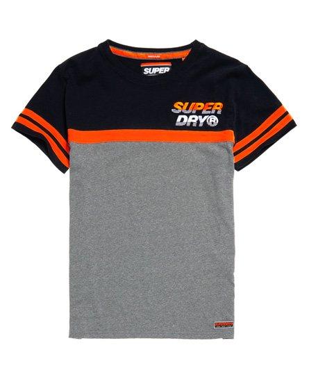 Superdry T-shirt Applique Nu Lad Cut & Sew