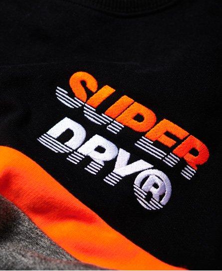 Superdry Sudadera oversize con cuello redondo y aplicación Nu Lad